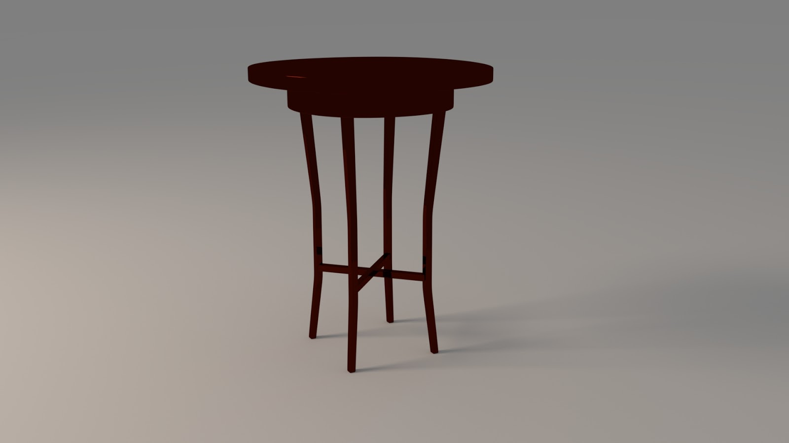 Free 3D Accent Table .blend file