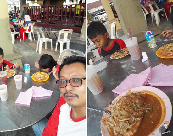 Char Kue Teow Omaq Parit Buntar