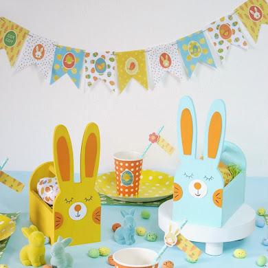 Easter Kids DIY Pastel Tablescape