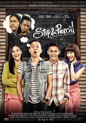 Stip & Pensil Poster