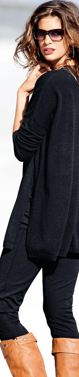 Madeleine Sweater in Black