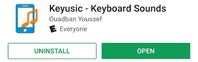 make android keyboard play sound as you type