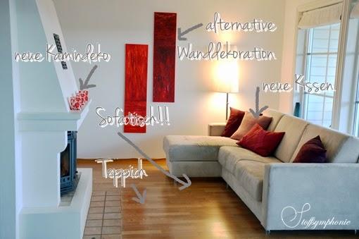 Stoffsymphonie Homestory Wohnzimmer Vorher Nachher Teil 1