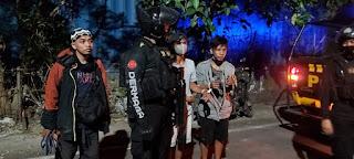 Bawa Ketapel dan Anak Panah , Polres Pelabuhan Makassar Amankan 2 Pemuda