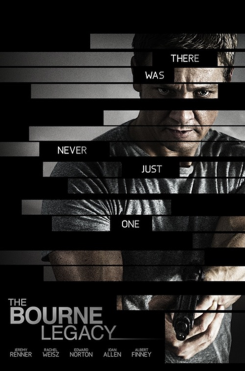 Jeremy Renner in 'The Bourne Legacy' poster