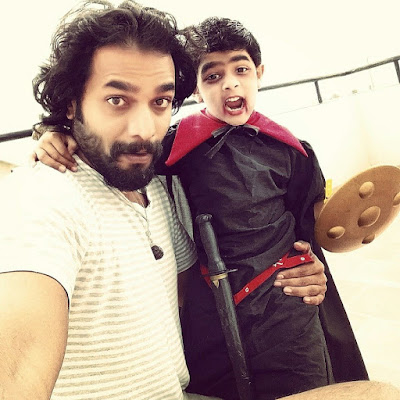 Sriimurali with his son Agastya