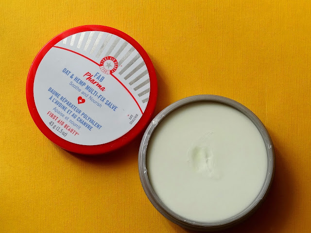 FAB Pharma Arnica Relief Mask and Oat & Hemp Multi-Fix Salve By First Aid Beauty