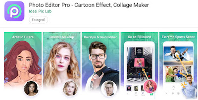 aplikasi edit gambar kartun android