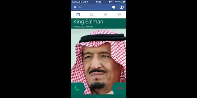 Siap-siap, Netizan dapat Telepon Langsung dari Raja Salman