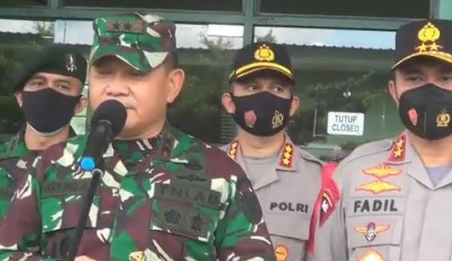 Dudung: TNI-Polri Siap Hadapi Ancaman Apapun di Jakata