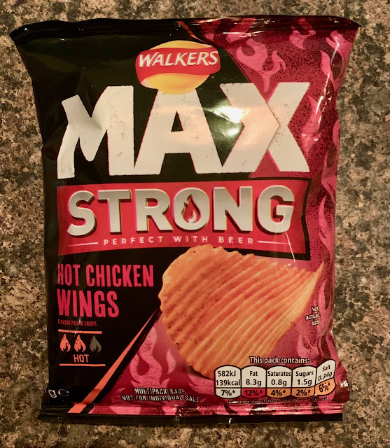 Walkers Max Strong Hot Chicken Wings
