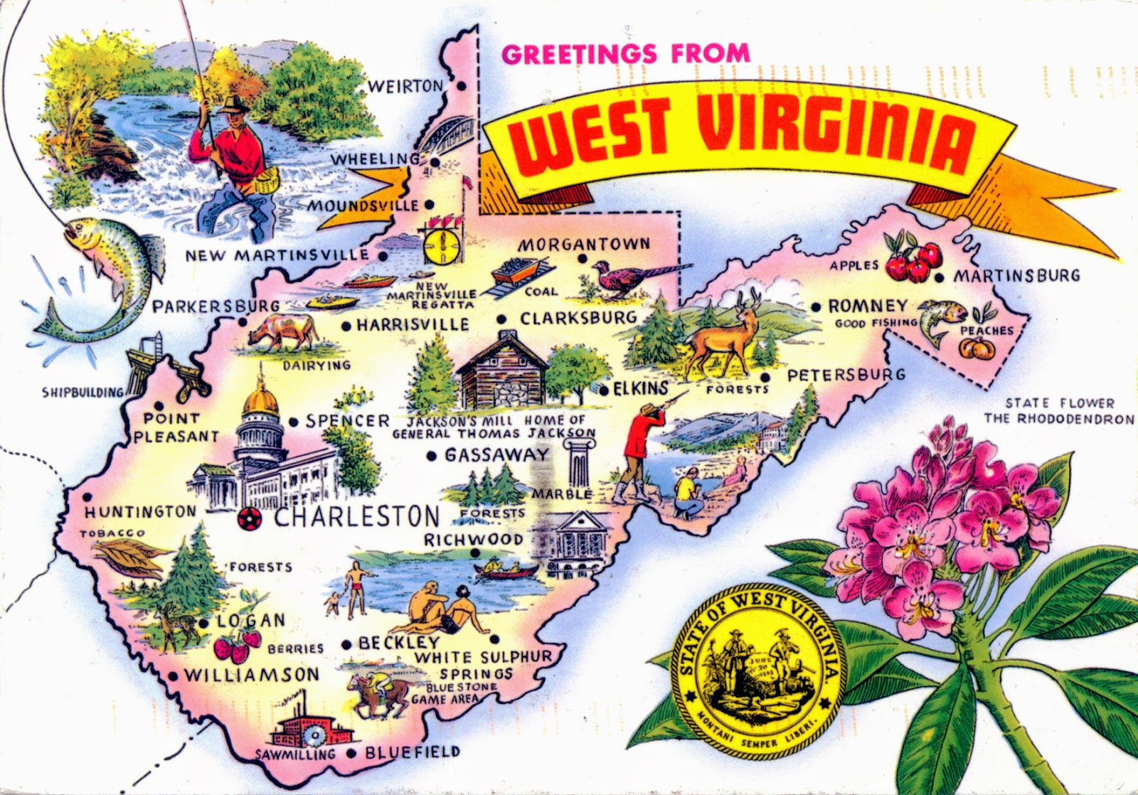 World Come To My Home United States West