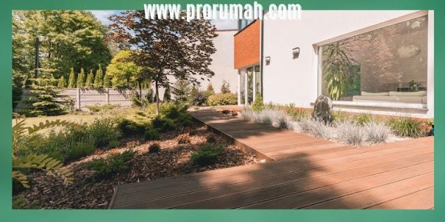 pemanfaatan kayu rengas - lantai kayu outdoor