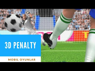 3D Penaltı Mobil Futbol Oyunu