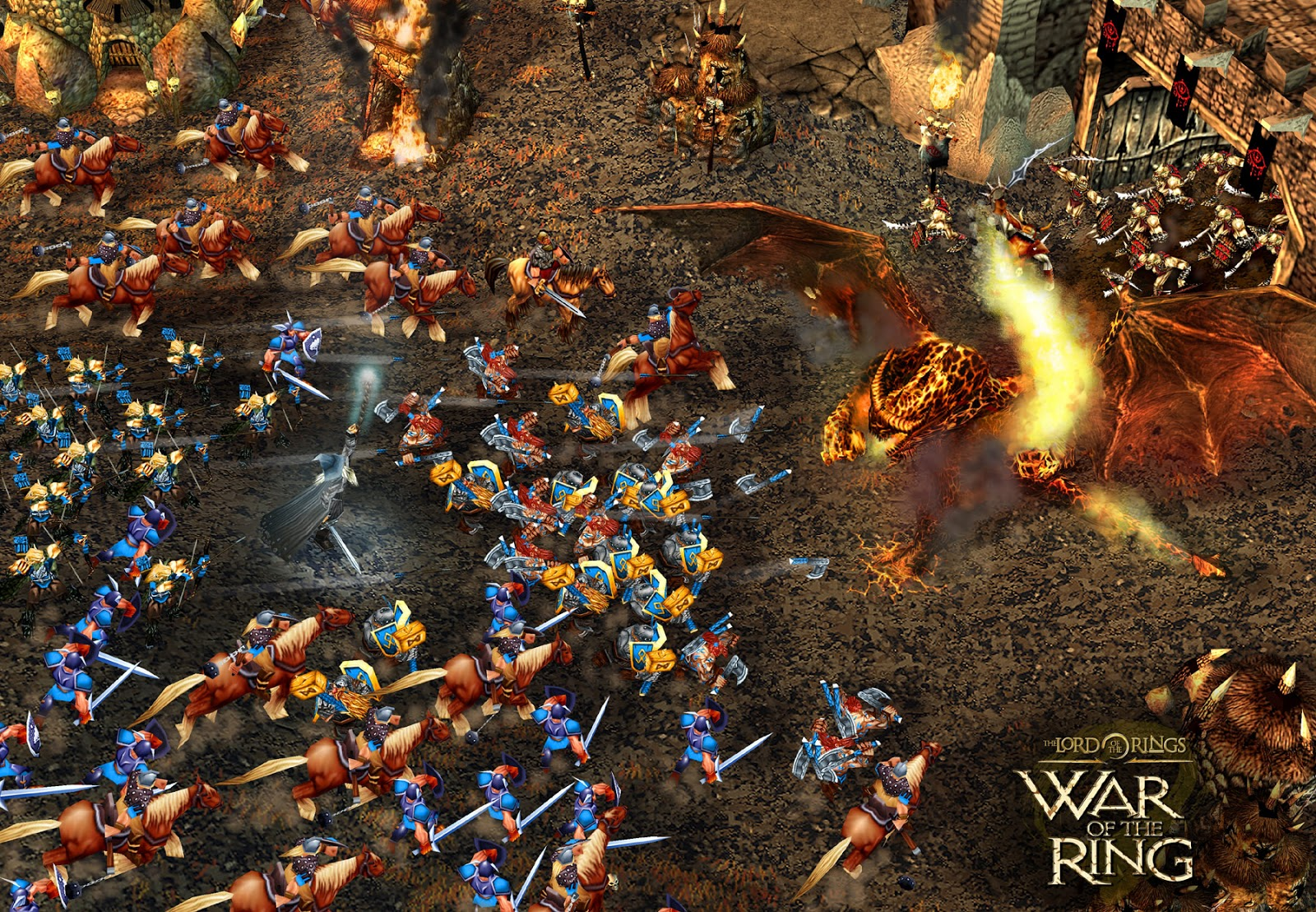 FREE DOWNLOAD GAME The Lord Of The Ring: War Of The Ring (RIP/PC/ENG ...