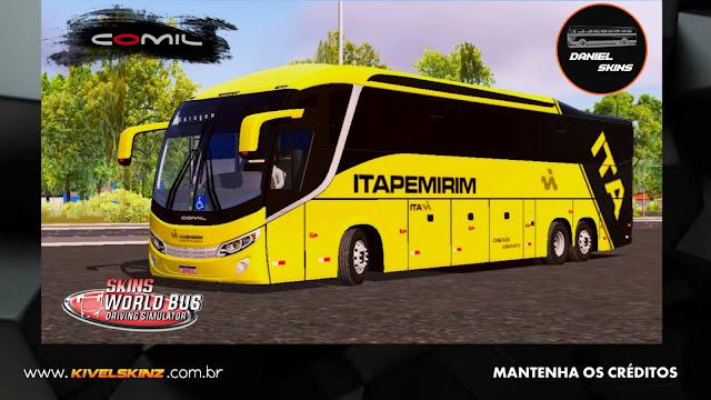 COMIL 1200 6X2 - VIAÇÃO ITAPEMIRIM (ITA)