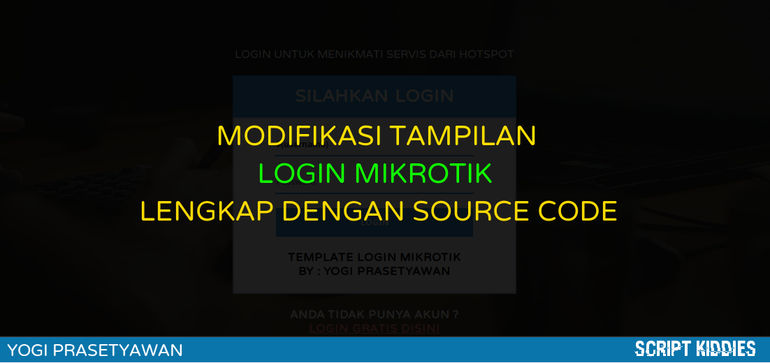 √ Mikrotik Hotspot Template Software | User Manager