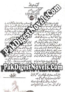 Kambakht Novel By Nighat Abdullah