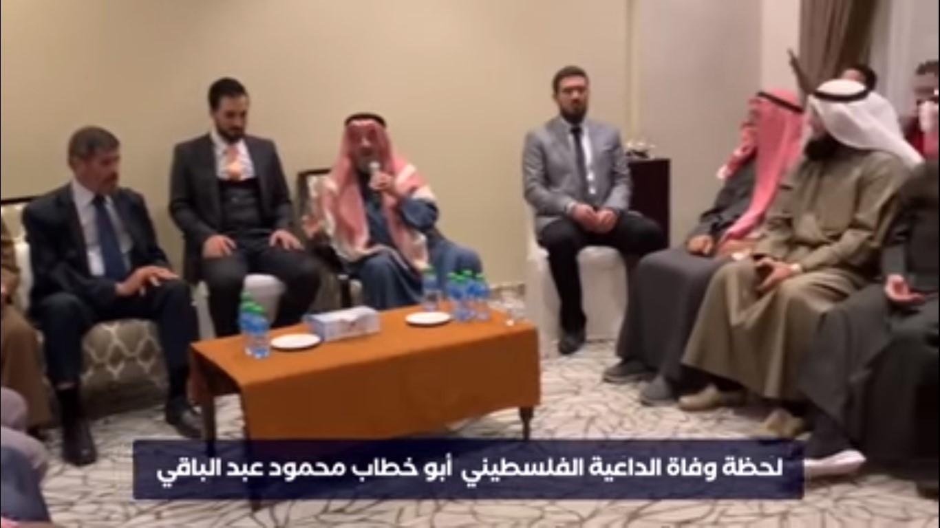 [Video] Detik-Detik Dai Palestina Meninggal Dunia Saat Sampaikan Tausiyah