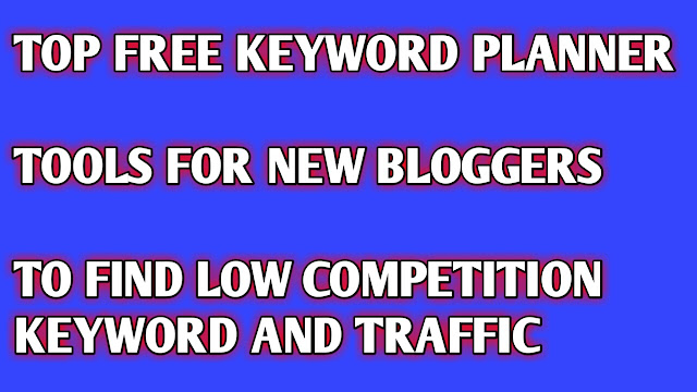 Keyword Research free tools online