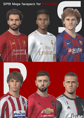 PES 2019 SmokePatch Mega Face Pack