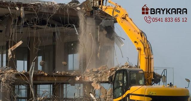 Küçükçekmece yıkımcı, bina yıkım işleri