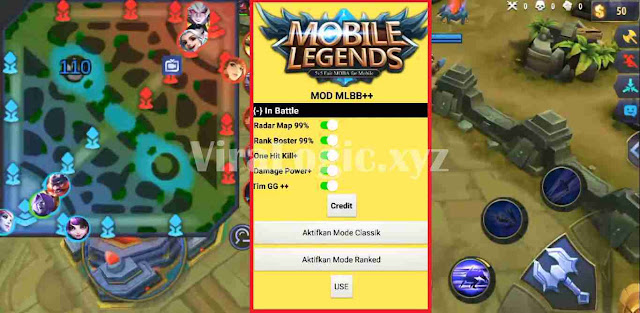 Apk Radar Map + Rank Booster Mobile Legends Tanpa Root Patch Terbaru