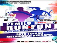 Besok KPU Pangkep Gelar KPU Fun & Run Di Tugu Bamburuncing, Ikutan Yuuk..!