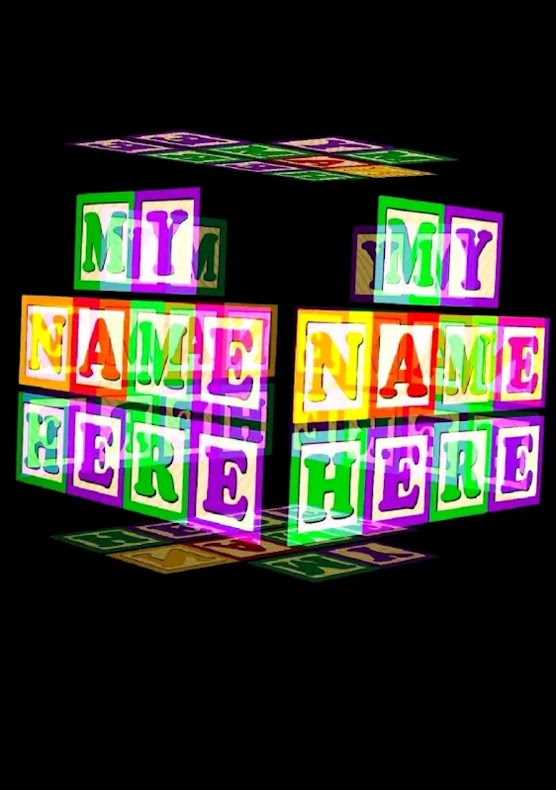 3D My name Live Wallpaper Application Article and download and install now