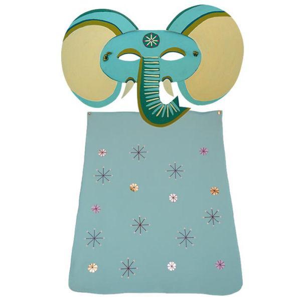 disfraz de  elefante  con capa