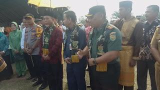 TNI dan BKKBN Canangkan KB Kesehatan Tingkat Provinsi Jambi di Kabupaten Merangin