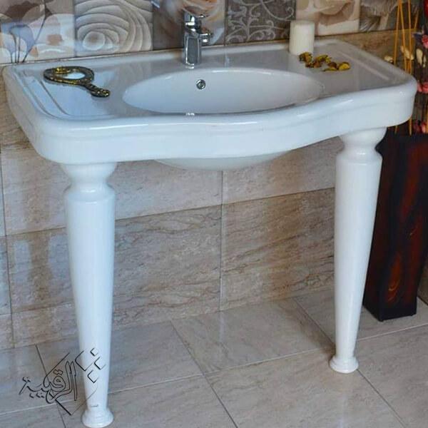 حوض حمام ديكور ليسيكو بالرجول