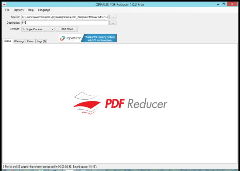 ORPALIS PDF Reducer Pro 3.1.18 License Key - Phần mềm nén dung lượng PDF