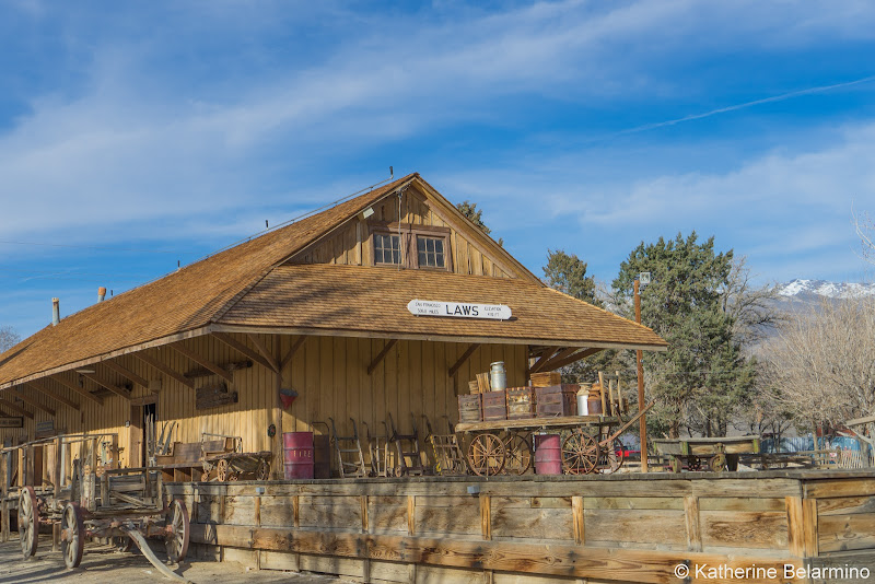 Laws Railroad Museum Depot Things to Do in Bishop California