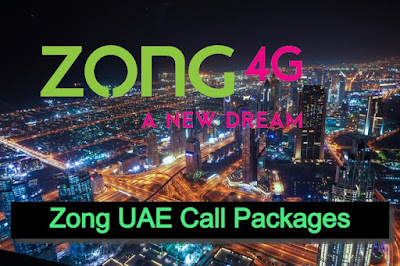 zong uae call packages