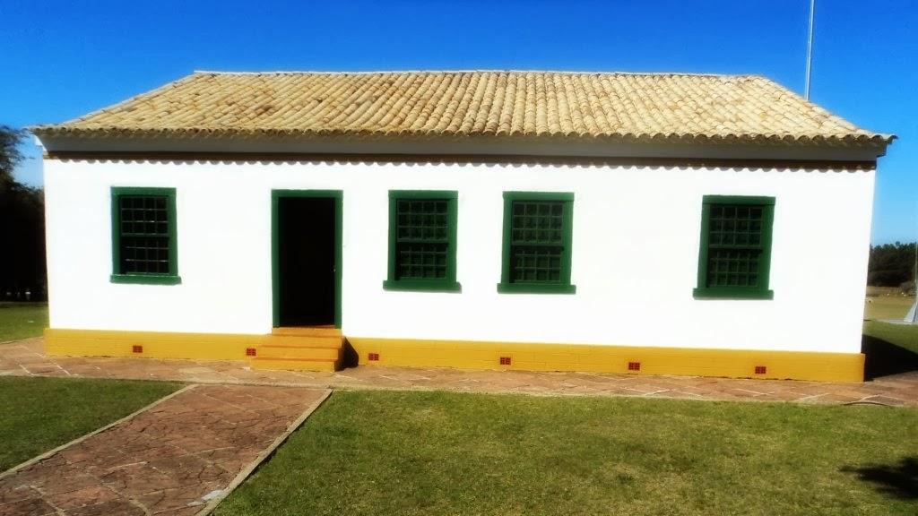 Casa do Marechal Osório, no Parque Marechal Osório: na Divisa de Tramandaí com Osório