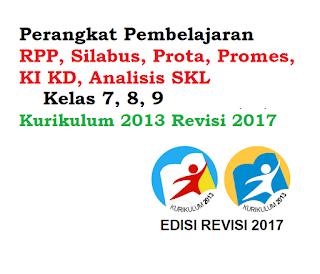 Perangkat Pembelajaran Prakarya Kelas 7 8 9 Rpp Silabus Prota Promes Ki Kd Analisis Skl Kurikulum 2013 Revisi 2018 Informasi Pendidikan