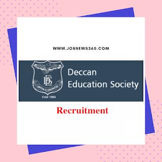 DES Pune Recruitment 2019 for Assistant Professor (34 Vacancies)