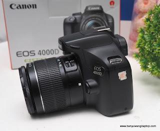 Jual Canon eos 4000D Bekas - Banyuwangi