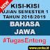 Kisi B. Jawa UAS Gasal 2018/2019 SMK Pemalang
