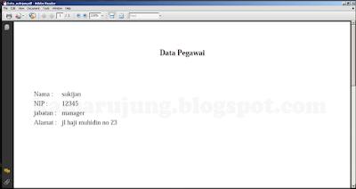 Cara Cetak Data Dari Database Ke Pdf Dengan Dompdf menggunakan PHP Gratis Source Code Disini