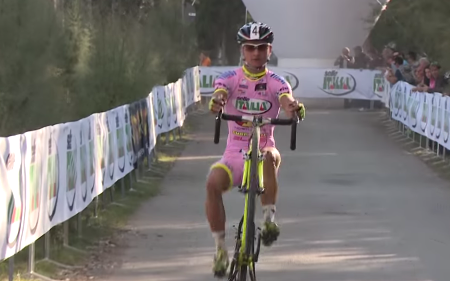 Gioele Bertolini remporte la 2eme manche du giro d'Italia