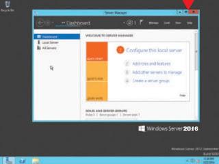 Instal Windows Server 2016 Lengkap Dengan Gambar
