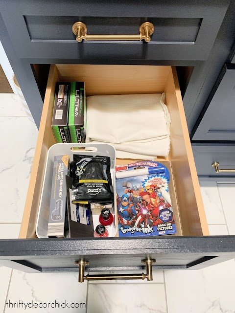 to do drawer in mud room
