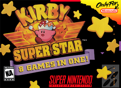 Kirby - Super star - Portada