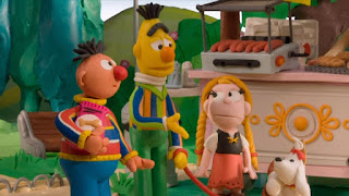 Bert and Ernie's Great Adventures The Dogsitters, dog-walkers, Ostrich Lady, Sesame Street Episode 4310 Afraid of the Bark season 43