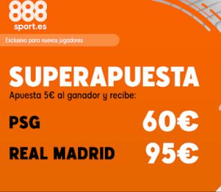 888sport superapuesta champions PSG vs Real Madrid 18 septiembre 2019