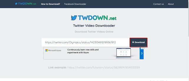 TWDOWN.net - Cara Mendownload Video di Twitter | Ladangtekno
