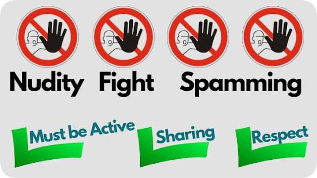 english whatsapp group rules