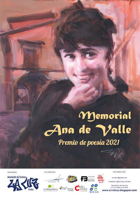 Ana Valle Certamen poesia premio memorial La Luz